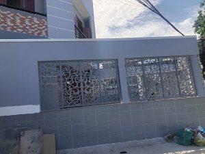 1. Hàng rào hoa sắt nghệ thuật