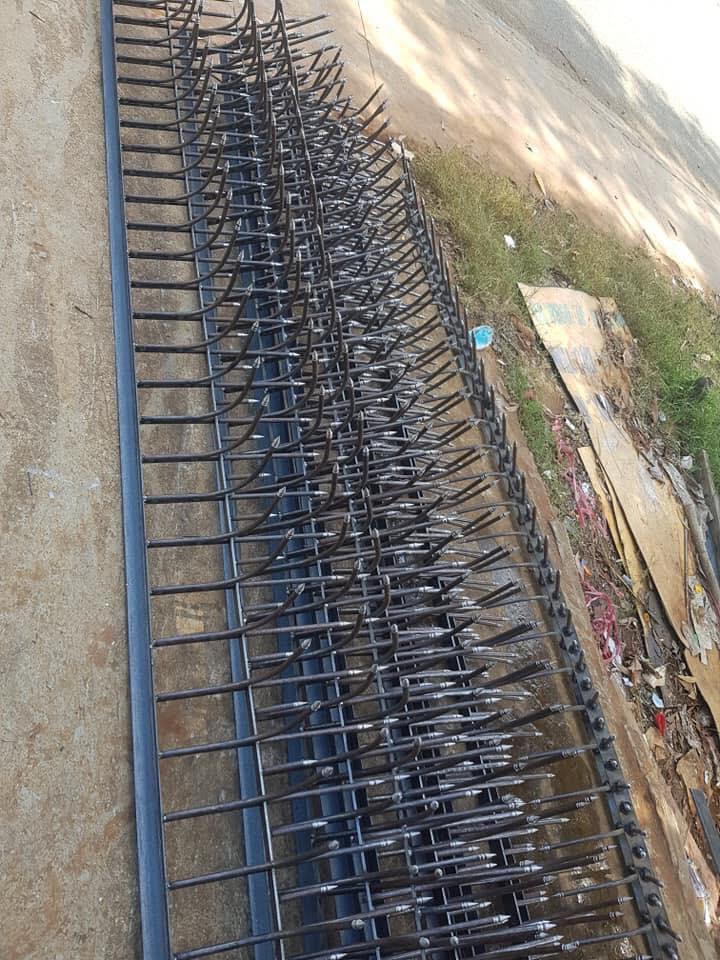 Thợ làm hàng rào sắt đẹp,hàng rào chông sắt