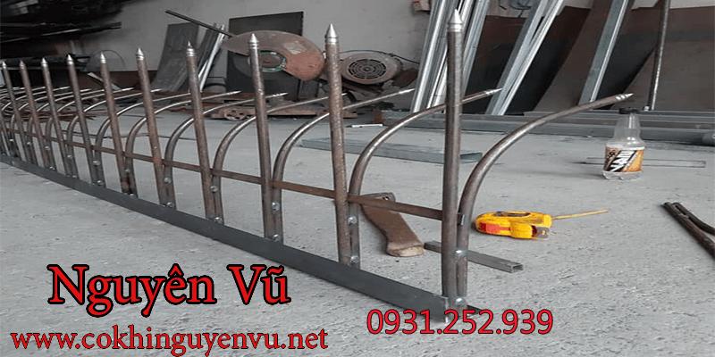 thi công chông sắt hàng rào chống trộm