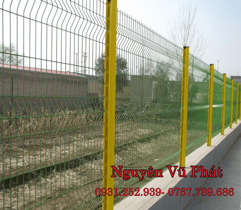 Hàng rào sắt lưới