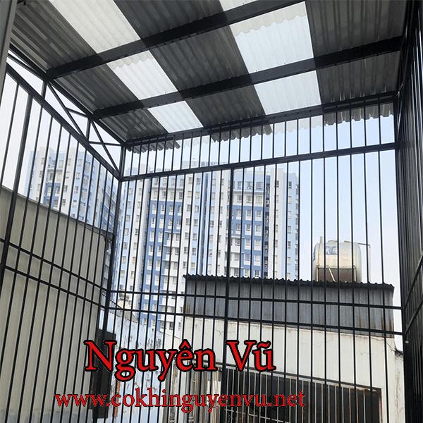Khung bảo vệ sân thượng