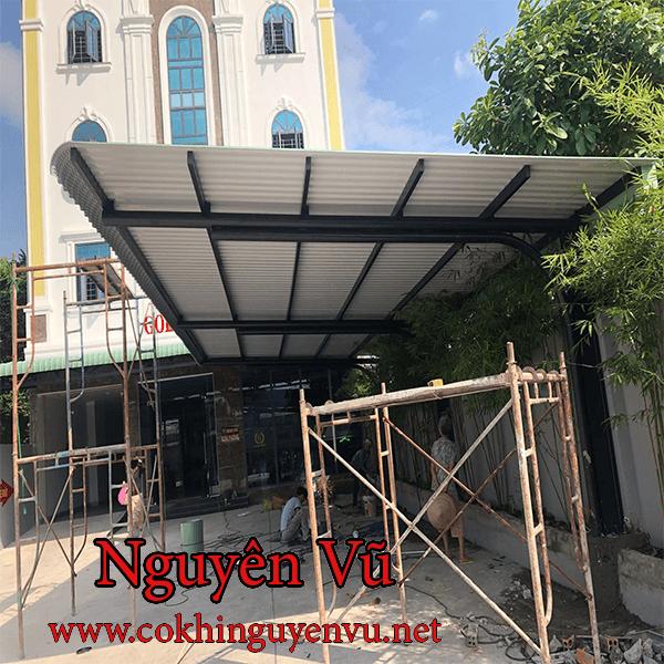 Dịch vụ làm mái tôn đẹp tại Biên Hòa Đồng Nai - Cơ Khí Nguyên Vũ