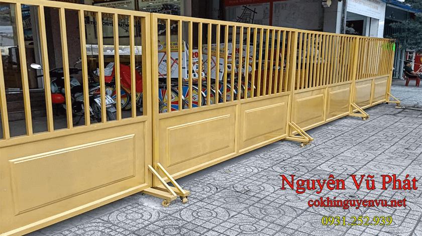 Dịch vụ thi công cổng rào