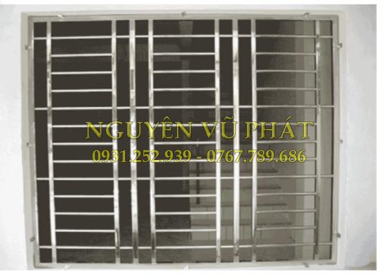 Dịch vụ làm khung bảo vệ inox cửa sổ
