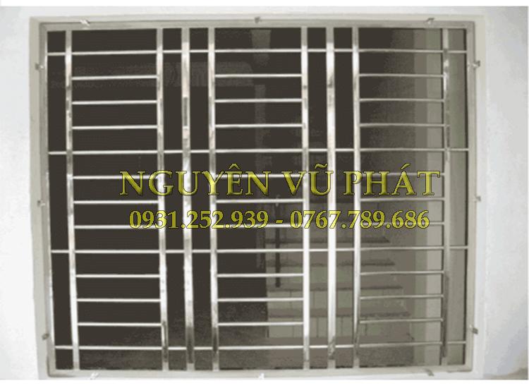 Thi công khung bảo vệ inox tại Bình Dương giá rẻ