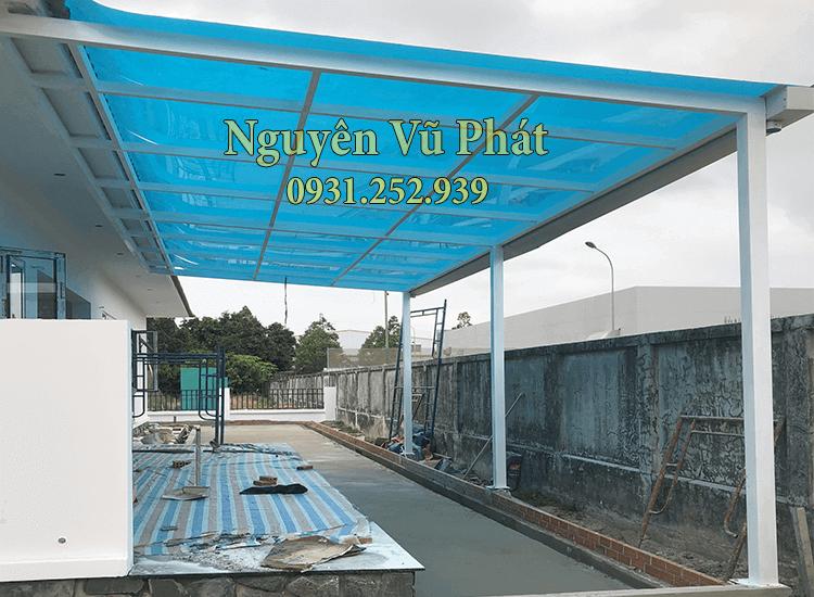 Thi công mái poly nhựa tại Phú Giáo chuYên nghiệp