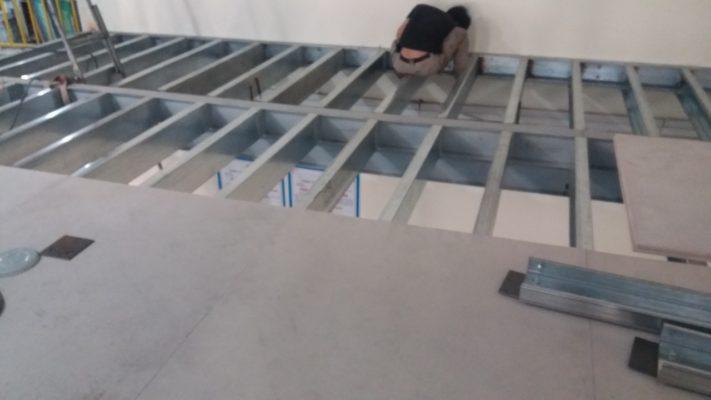 Dịch vụ thi công sàn gác lửng bằng sắt