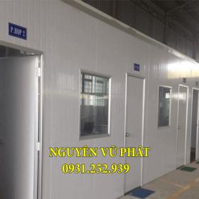 Vách ngăn panel áp dụng ngăn phòng làm việc