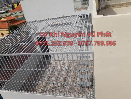 Thi công khung bảo vệ sân thượng tại Quận Tân Bình