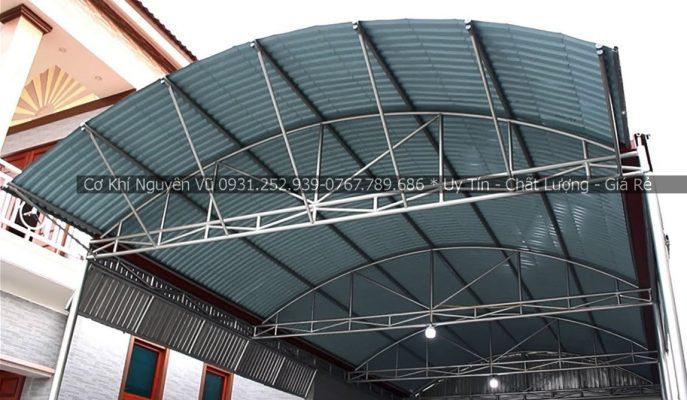Dịch vụ làm mái tôn vòm nhà xưởng