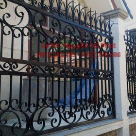 Lắp đặt hàng rào sắt nghệ thuật tại TP Thủ Đức