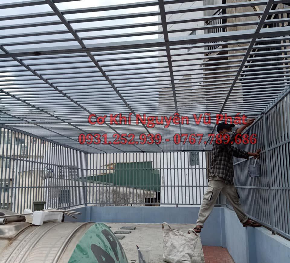 Dịch vụ báo giá khung bảo vệ sắt giá rẻ tại Tân Phú